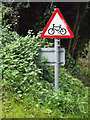 TG1808 : Roadsign on Old Watton Road by Adrian Cable