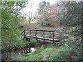 NT5041 : Allan Water footbridge by M J Richardson