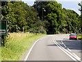 SK3370 : Baslow Road, A619 by David Dixon