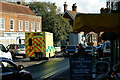 TQ0044 : Accident in Bramley, Surrey by Peter Trimming