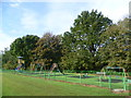 TQ7049 : Playground near Yalding by Marathon