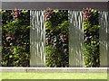 SP0687 : Detail of green wall opposite One Snow Hill, Birmingham by Robin Stott