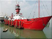 TM2532 : Harwich - light ship by Chris Allen