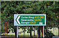 J3171 : Direction sign, Stockman's Lane, Belfast (October 2014) by Albert Bridge