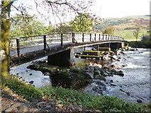 NN3528 : West Highland Way near Kirkton Farm by Dave Kelly