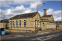 SE1437 : Wycliffe CE Primary School, Saltaire Road by Roger Templeman