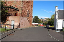 NS5036 : Barr Castle Gardens, Galston by Billy McCrorie