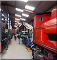 SD3584 : Inside the railway workshop at Haverthwaite by Jaggery