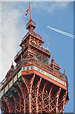 SD3036 : Blackpool : Blackpool Tower by Lewis Clarke