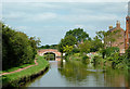 SJ9132 : Canal south-east of Stone, Staffordshire by Roger  Kidd