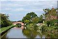 SJ9132 : Brassworks Farmhouse and Bridge near Stone, Staffordshire by Roger  Kidd