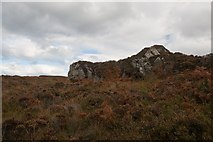 NR2268 : Crags west of Sliabh Mòr, Islay by Becky Williamson