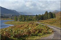 NH2331 : Approaching Mullardoch House by Nigel Brown