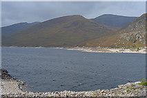 NH2231 : Mixed weather over Loch Mullardoch by Nigel Brown
