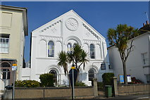 SW4730 : Penzance Baptist Church by John M