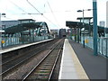 NZ3957 : St. Peters Metro station, Tyne and Wear by Nigel Thompson