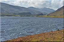 NH3139 : Rough seas on Loch Beannacharan by Nigel Brown