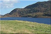NH3039 : Looking across Loch Beannacharan by Nigel Brown