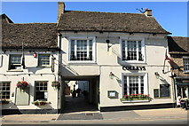 SU2199 : Colleys Restaurant, High Street, Lechlade by Rob Noble