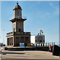 SD3348 : Two of Fleetwood's Listed Buildings by Gerald England