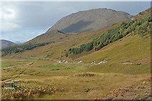 NH2538 : Looking along the northern side of Glen Strathfarrar by Nigel Brown