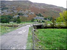 NY3916 : Bridge over the Goldrill Beck by Gordon Brown