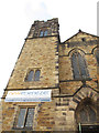 SE0925 : Tower of New Ebenezer church, Halifax by Stephen Craven