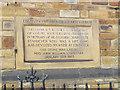 SE0925 : Foundation stone of Ebenezer church, Halifax by Stephen Craven