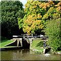 SJ8835 : Meaford Bottom Lock near Stone, Staffordshire by Roger  Kidd