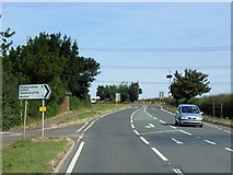 SK9859 : Boothby Graffoe, Grantham Road (A607) by David Dixon