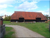 TL8422 : The Grange Barn, Coggeshall by Bikeboy