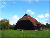 TL8422 : Grange Barn, Coggeshall by Bikeboy