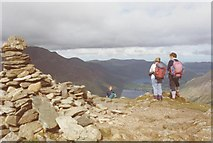 NY2014 : The summit of Fleetwith Pike by Tim Glover