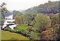 ST8060 : River Avon from Avoncliff Aqueduct of Kennet & Avon Canal, 1991 by Ben Brooksbank