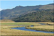 NH2438 : Glen Strathfarrar below Braulen Lodge by Nigel Brown