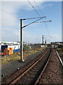 NS2241 : Railway with level crossing by Trevor Littlewood