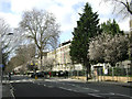 TQ2781 : Sussex Gardens, Paddington, at the junction with Southwick Street, early spring by Robin Stott