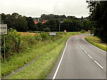 SK9924 : A151, Corby Glen by David Dixon