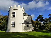 SO5212 : Round House at the Kymin, Monmouth by Ruth Sharville