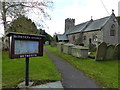 SO3909 : St Peter's church, Bryngwyn by Ruth Sharville