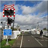 TL4658 : Laundry Lane Crossing by John Sutton