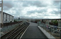 SH5738 : Harbour Station at Porthmadog by Clint Mann