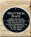 SP4906 : Joseph Prestwich plaque, Oxford by Jaggery