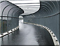 NS5865 : Anderston Footbridge (former bridge to nowhere) by Thomas Nugent