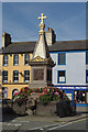 NY2548 : George Moore Memorial Fountain, Wigton by Stephen McKay