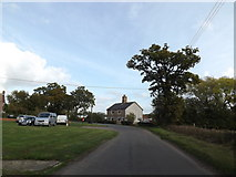 TM0663 : Saxham Street, Gipping by Adrian Cable