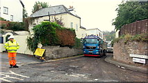 SO6024 : Resurfacing Old Gloucester Road by Jonathan Billinger