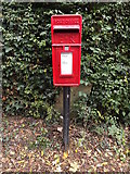 TM0960 : Blacksmiths Lane Postbox by Adrian Cable