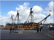 SU6200 : HMS Victory, Trafalgar Day 2014 by Basher Eyre