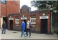 TQ3390 : Public convenience, High Road, Tottenham, London by L S Wilson